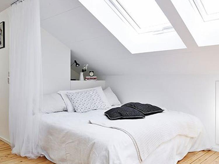 slaapkamer schuin dak. Foto geplaatst door ElkeWu op Welke.nl