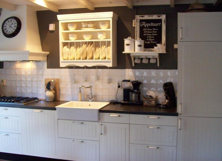 Mijn landelijke keuken in grijs/wit. foto geplaatst door ...