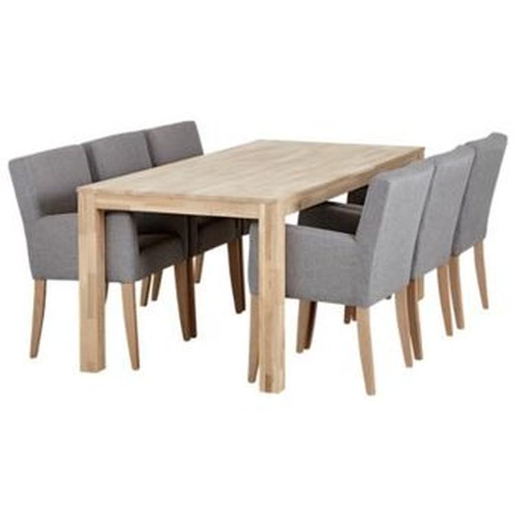 grijze eetkamer stoelen. Foto geplaatst door juutbonte op Welke.nl