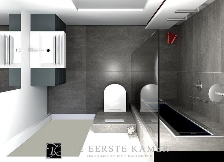 Mooie Badkamermeubel Lades : De eerste kamer mooie badkamer met luxe douche.. foto geplaatst