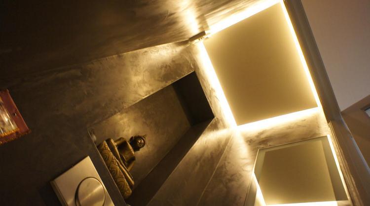 Blinde Wandplank Met Verlichting.Blinde Wandplank Met Verlichting Awesome Sleuven Voor Het Ophangen