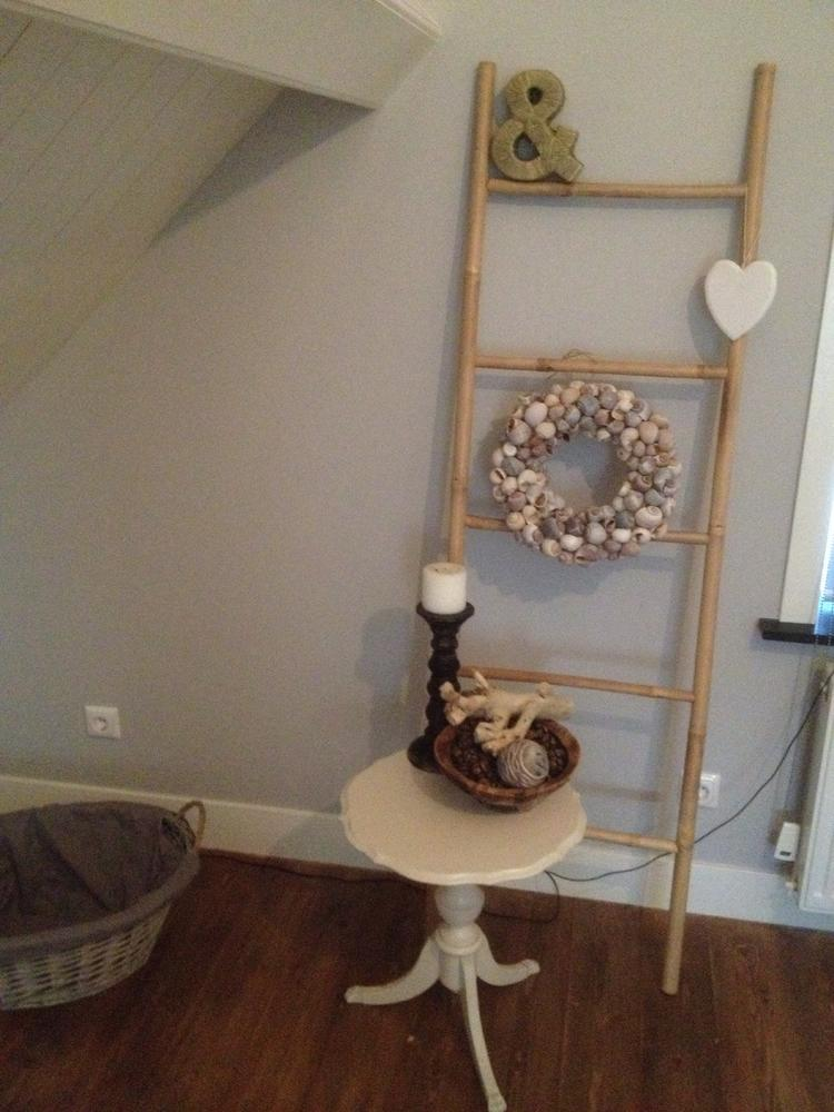 Beroemd Houten Ladder Decoratie. Woensdag April With Houten Ladder  @LE12