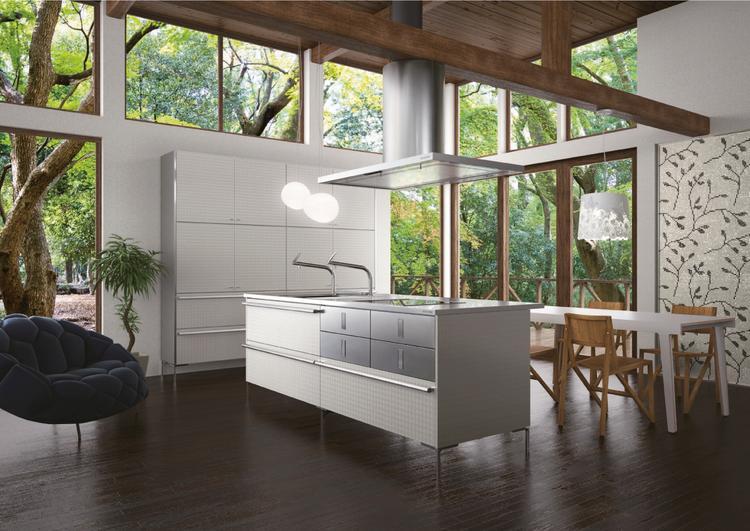 Keuken Modern Open : Strakke moderne uitvoering van de core keuken in een prachtige
