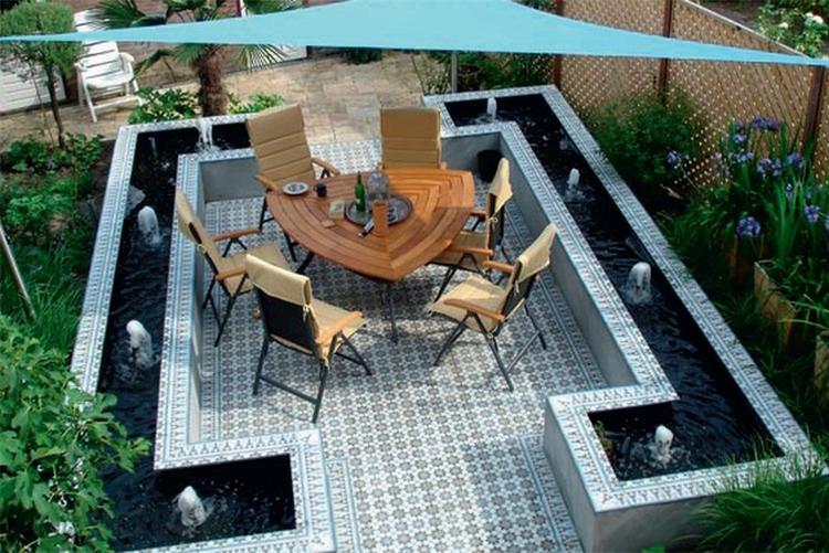 Leuk idee voor terras foto geplaatst door manon clement op