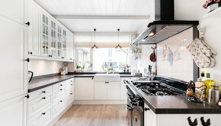 Keuken Ikea Houten : Moderne variate op de landelijke ikea keuken. met vrijstaande falcon