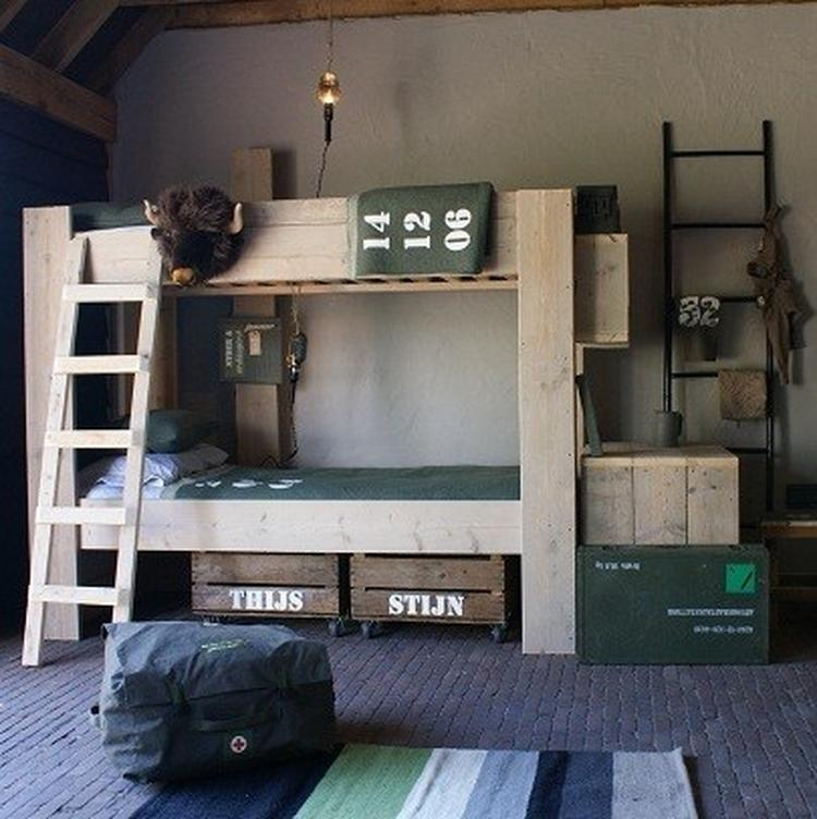 Stoere jongens kamer. Foto geplaatst door LMC op Welke.nl