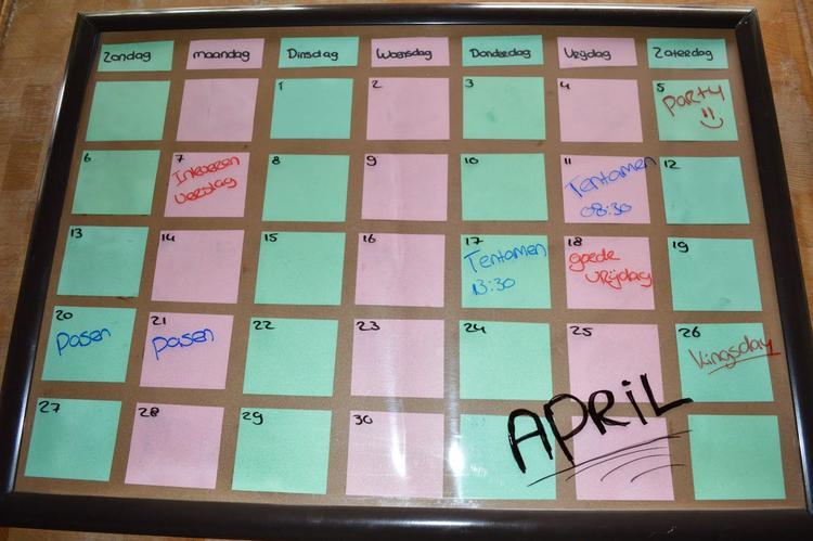 Magnifiek Populair Zelf Kalender Maken Knutselen @UVK71 - AgnesWaMu @XT91