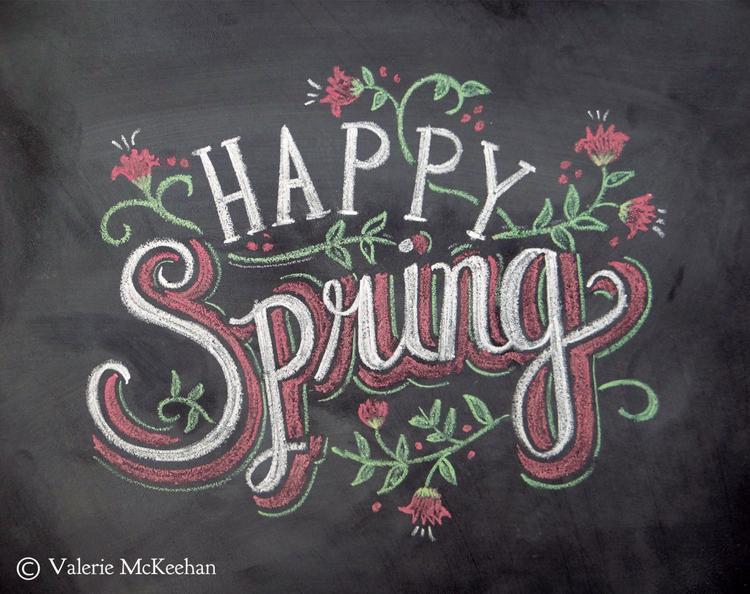 leuke lente spreuken Leuke kreet of spreuk voor op een krijtbord. Foto geplaatst door  leuke lente spreuken