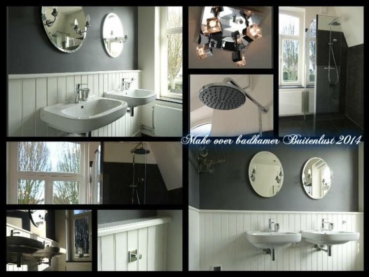 Luxe badkamer in stijl in dit vakantiehuis in zuid limburg biedt