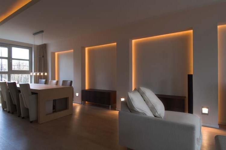 New indirecte verlichting voor o.a. badkamer. Foto geplaatst door &DS76