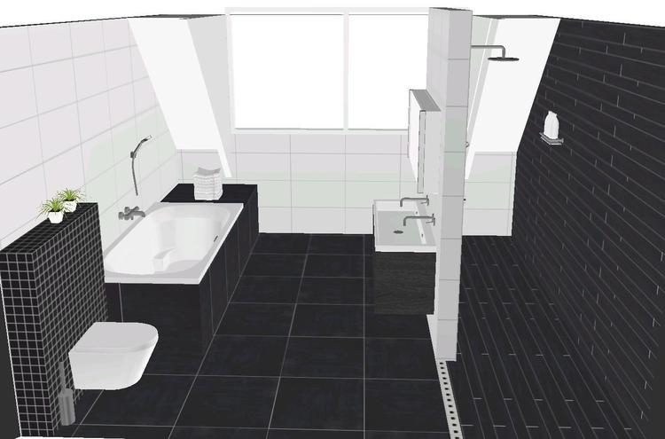 Badkamer vloertegels tegels badkamer inspiratie u voorbeelden badkamertegels toepassen - Marmeren douche ...