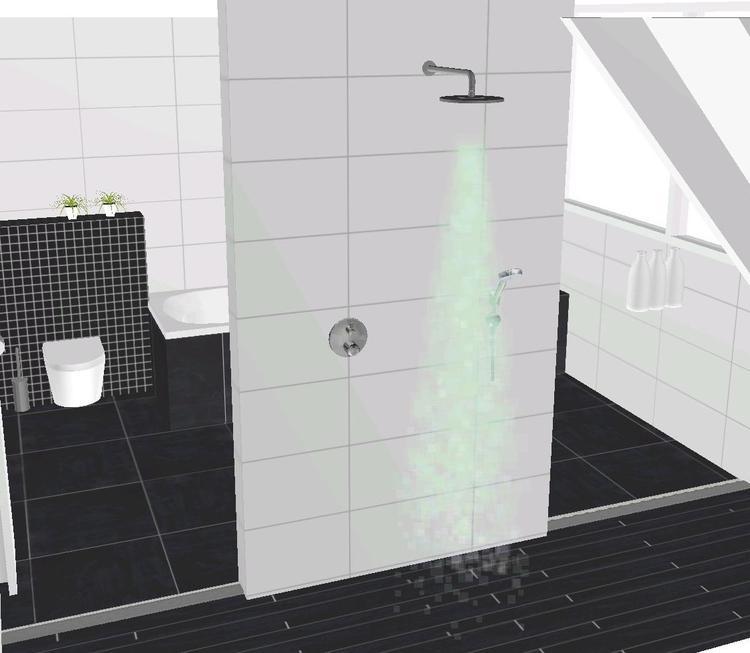Ennovy keukens en badkamers ontworpen moderne badkamer met mosa ...