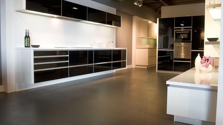 Designkeuken art pro van alno in hoogglans zwart. de alno art pro ...