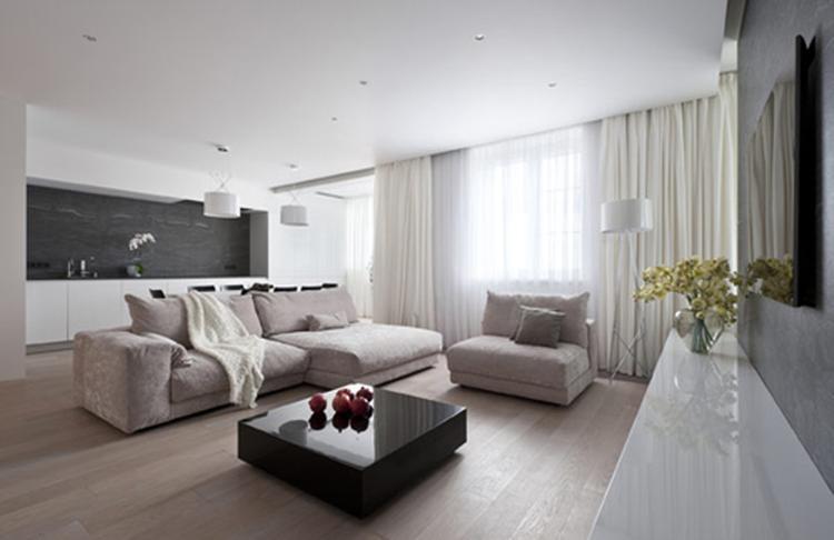 mooie kleuren voor in de woonkamer staan mooi bij een witte keuken ...