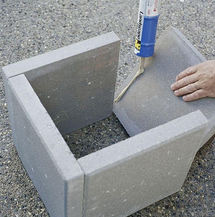 Uitzonderlijk Stenen Plantenbak Lijmen HC89 | Belbin.Info #QU38