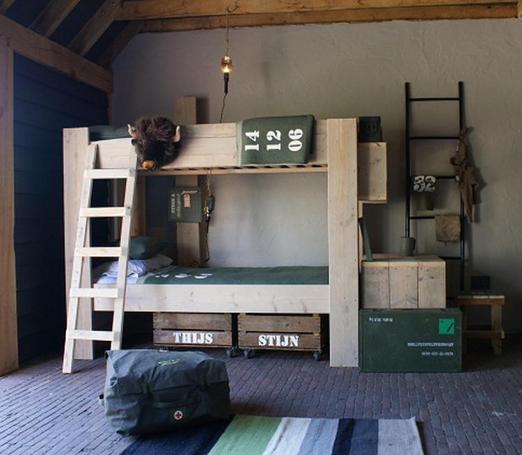 robuuste slaapkamer voor jongens
