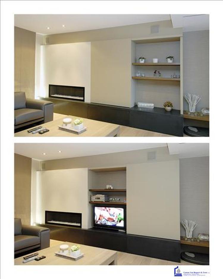 Ongebruikt Sierschouw met aansluitend tv-meubel/kast. Foto geplaatst door FF-23