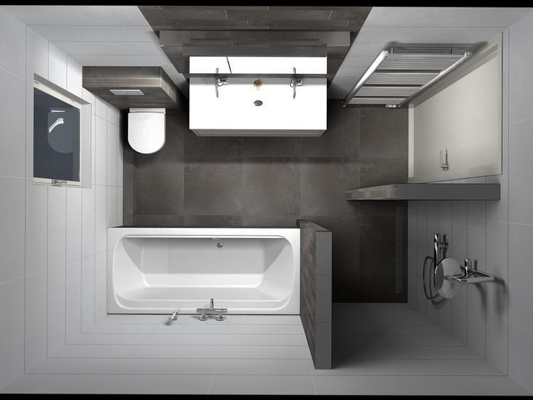 De Eerste Kamer) Warme vloertegels gecombineerd met tegelstroken uit ...