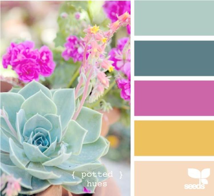 Mooie kleurencombinaties, ter inspiratie gebruiken in woonkamer ...
