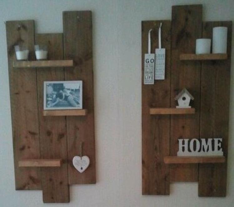 Houten wandbord maken for Zelf meubels maken van hout