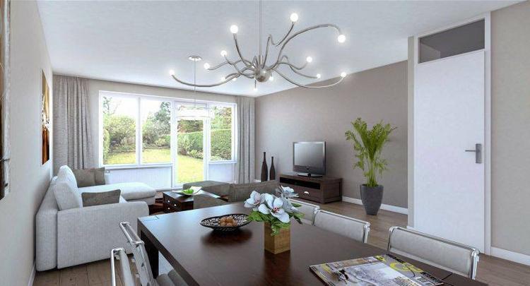Mooie woonkamer, mooie kleuren. Foto geplaatst door laurapeeters op ...