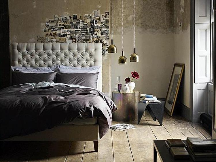 gaaf zo de inrichting van je slaapkamer, leuke bedlampjes!. foto, Deco ideeën