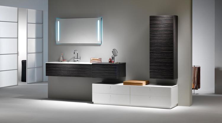 Zelf je badkamer samenstellen met modulaire meubels veel
