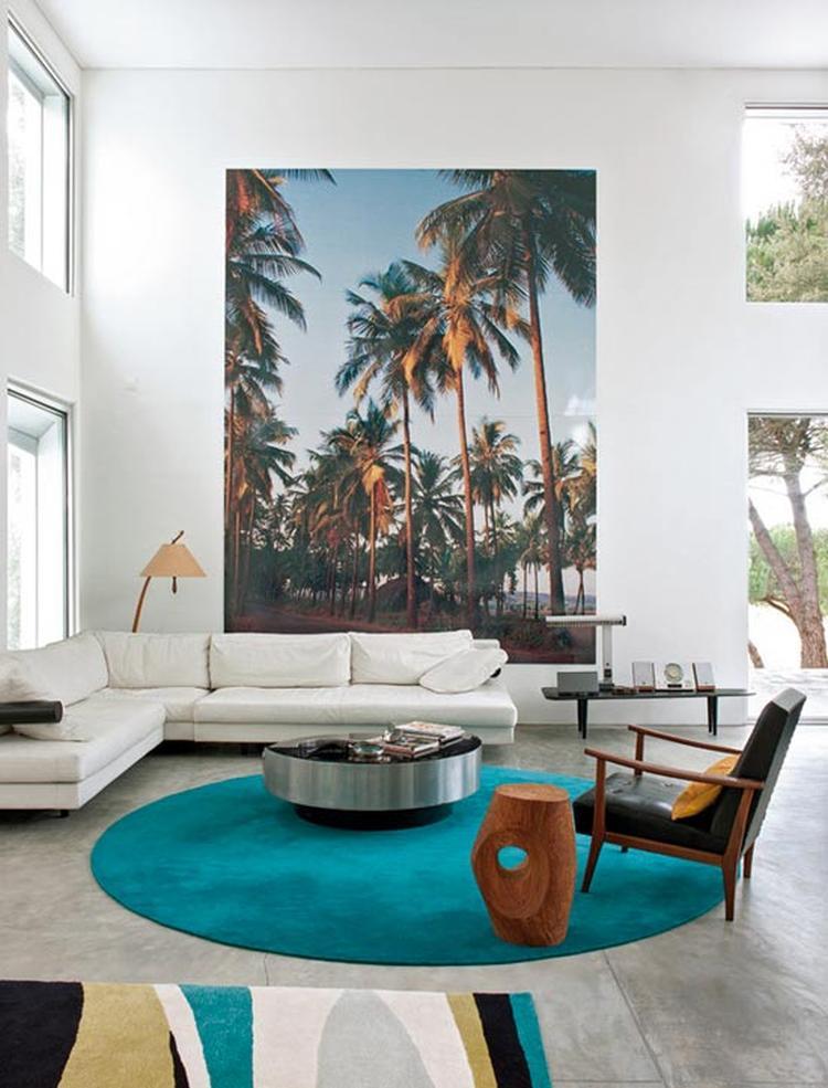Schilderij voor de woonkamer, makkelijk zelf te laten maken op ...