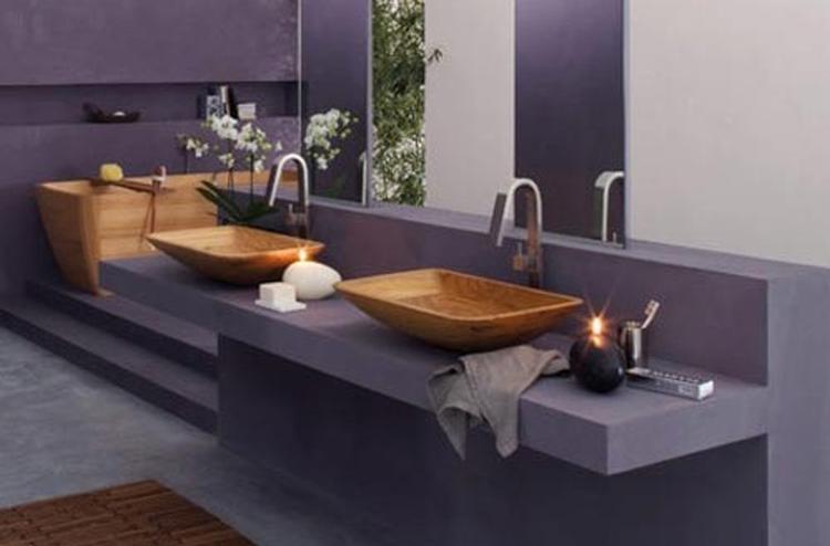 Italiaanse badkamer van Francoceccotti. Deze heeft een eigen lijn ...