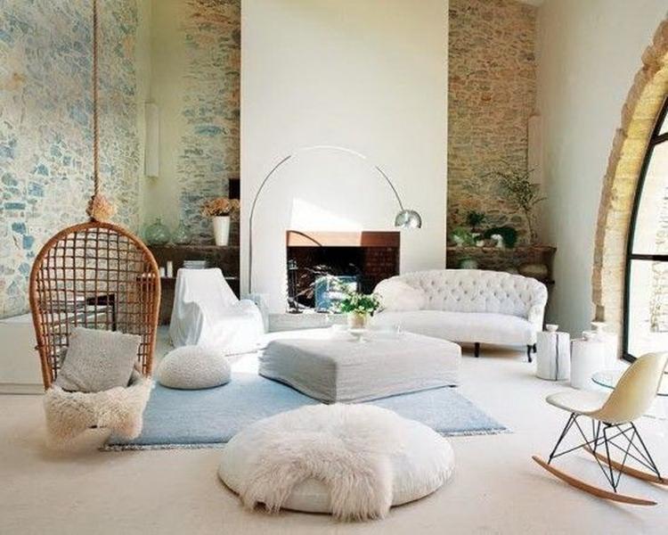 Mooie hangstoel voor in de woonkamer. foto geplaatst door tijntje1