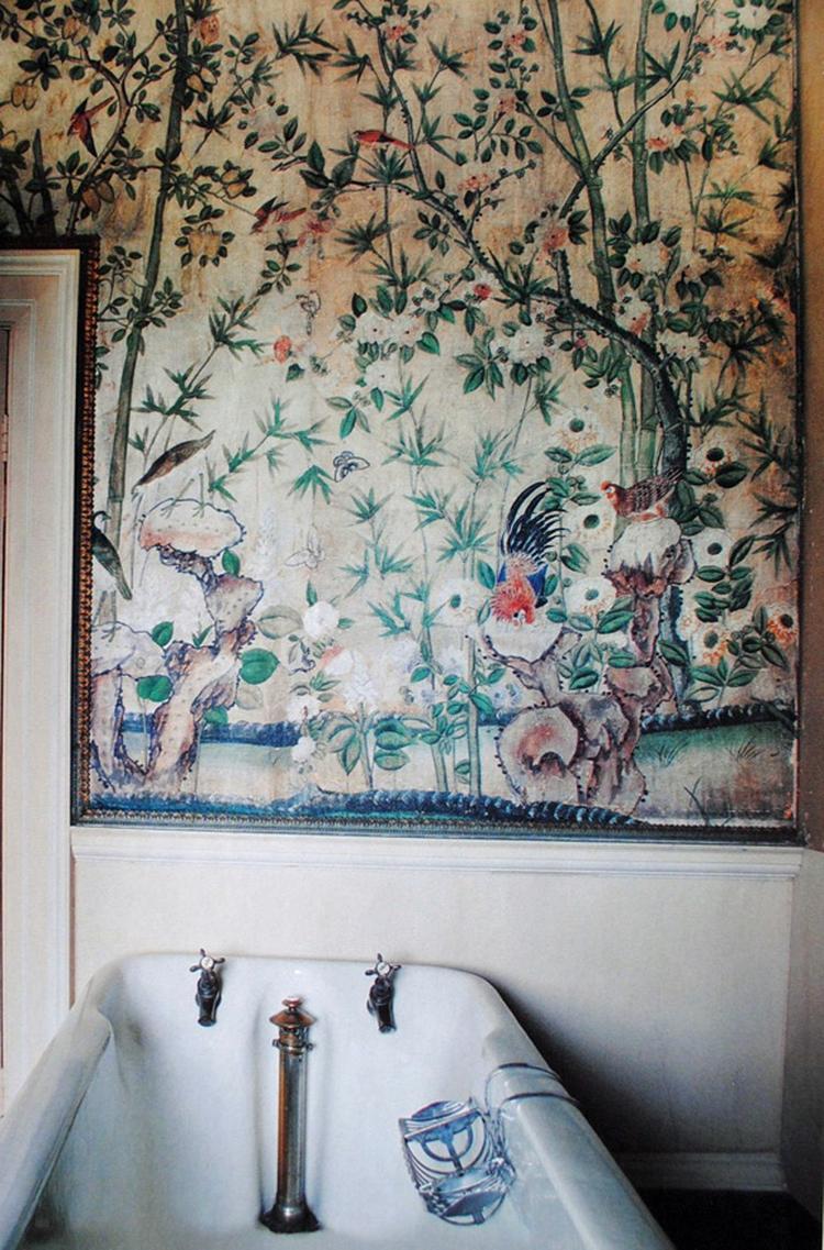 Watervast Behang Badkamer. Interesting Erika With Watervast Behang ...