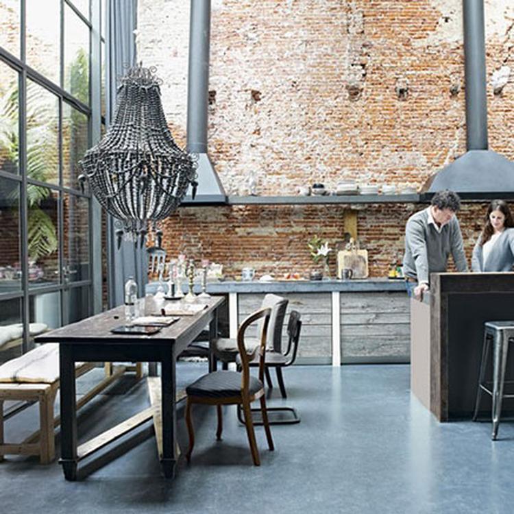 keuken industrieel stoer. Foto geplaatst door DesiringHome op Welke.nl