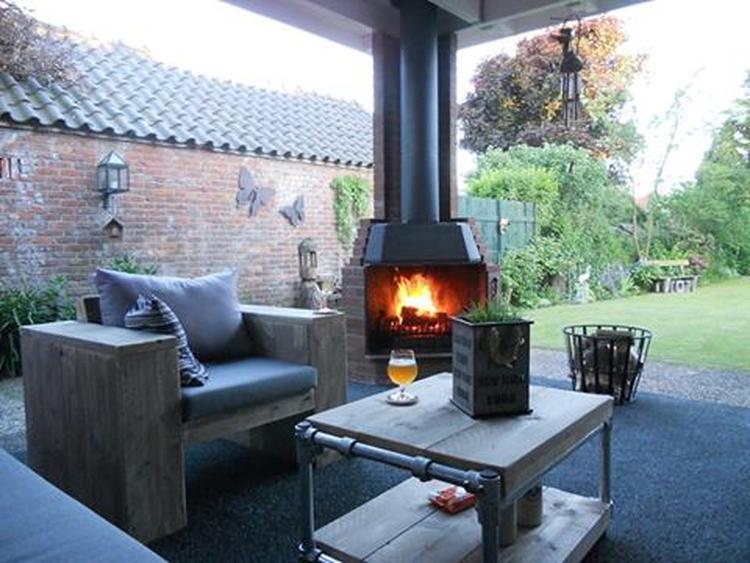 Genoeg mooie openhaard voor buiten. Foto geplaatst door jojos op Welke.nl NH22