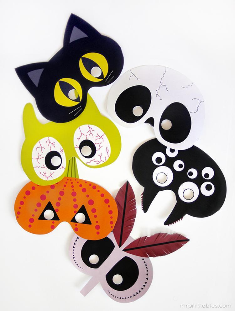 Halloween Masker Maken.Halloween Mooie Maskers Foto Geplaatst Door Versemuntthee
