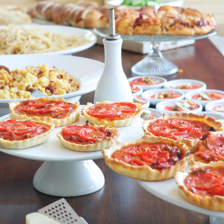 Voorkeur Alles voor een Italiaans buffet met tijdsplanning en recepten. Zo &LR27