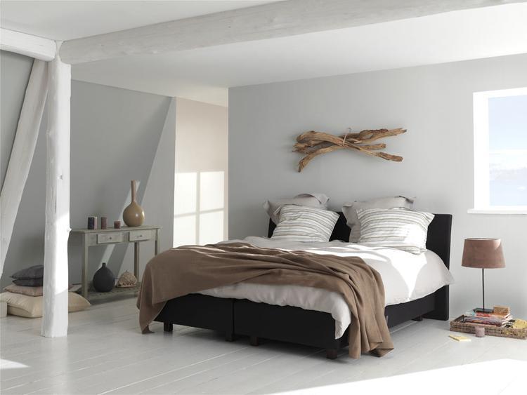 slaapkamer ideeën houten balken. foto geplaatst door ginny op welke.nl, Deco ideeën