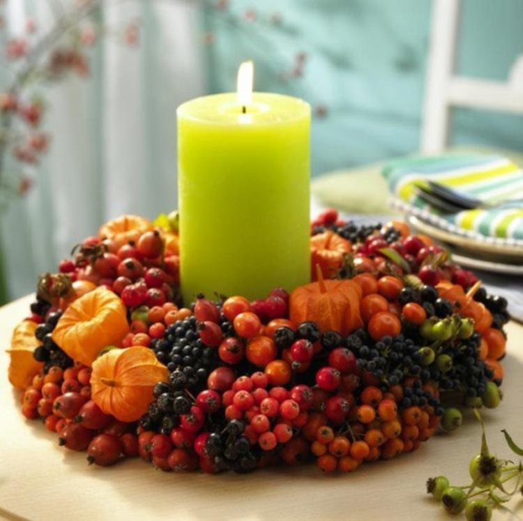 herfst decoratie voor op de tafel. Foto geplaatst door annemike op ...