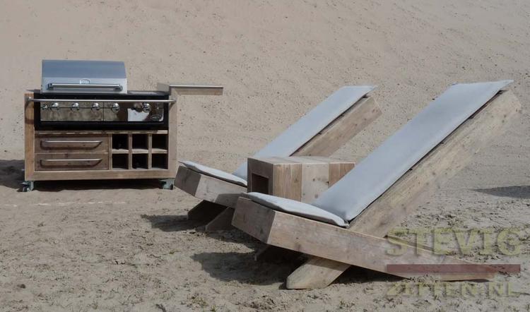 Vuurtafel zelf maken best gaeve vuurtafel steigerhout met for Ingebouwd zwembad zelf maken