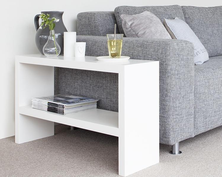 Handige side-table voor naast de bank. Made by - Sander Zwart ...