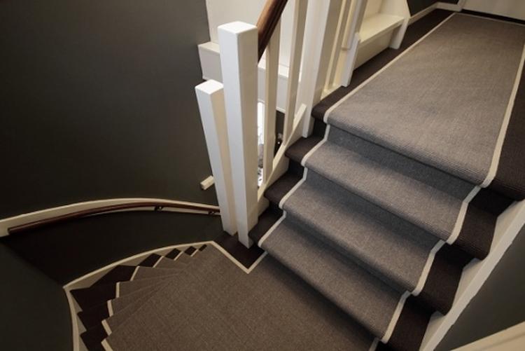 Voorkeur Sisal trap bekleding met loper effect . Foto geplaatst door  #NQ49