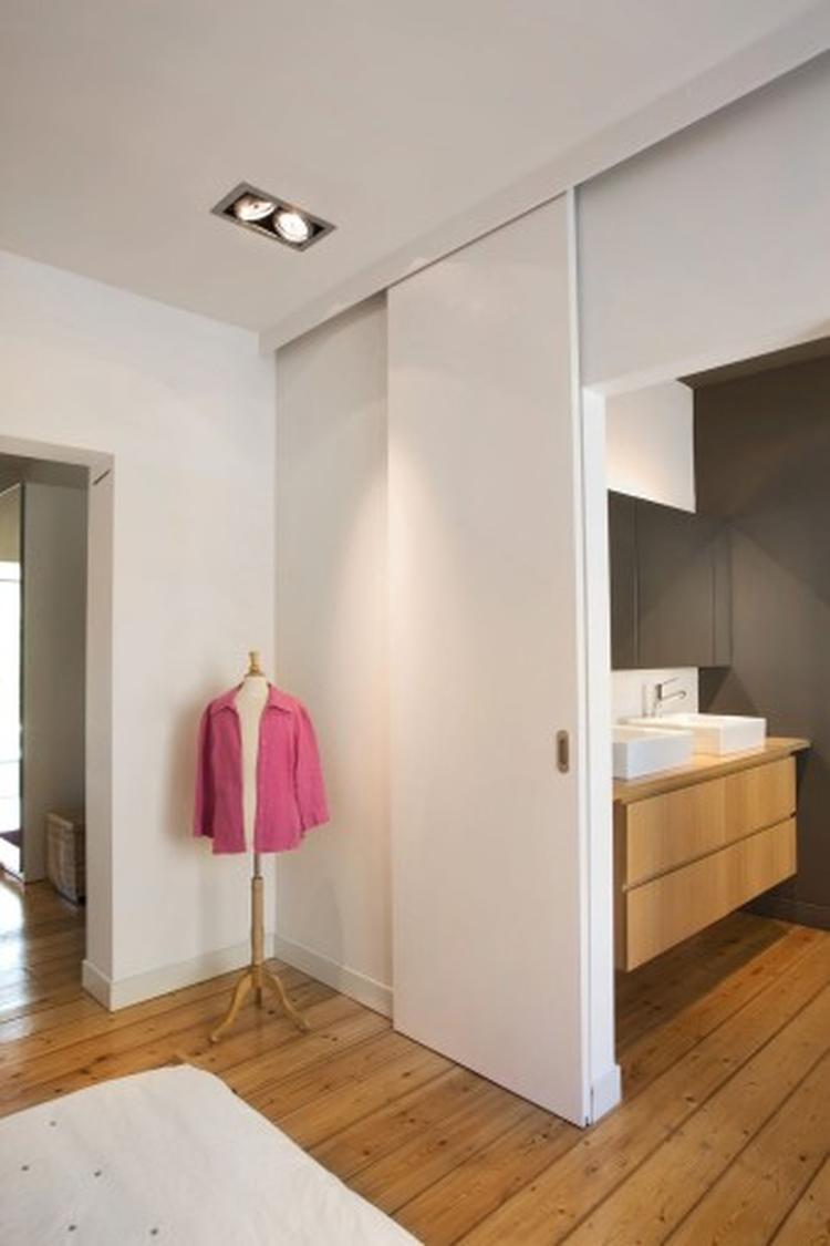 schuifdeur voor badkamer. Foto geplaatst door NickyNicole op Welke.nl