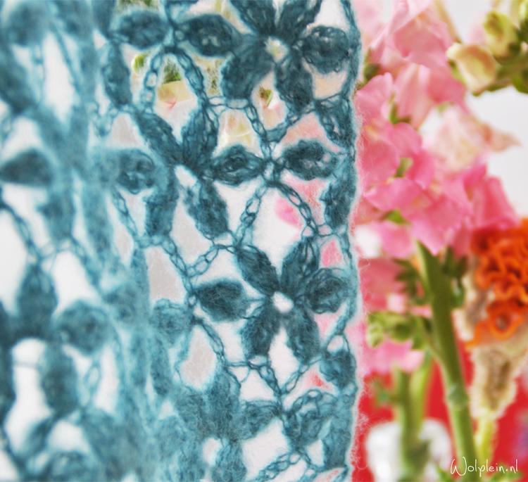 Haken Bloemensteek Gratis Haakpatroon Wolplein Wat Zou Jij Hier