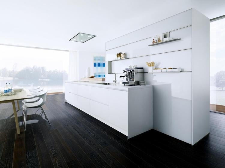 Strakke Witte Keuken : Strakke witte keuken in deze keuken is minder juist meer er is