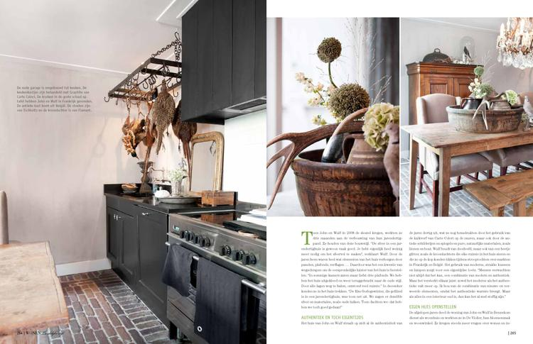 Werkblad Badkamer Maken : Ook erg leuk zwarte landelijke keuken idee zelf te maken met