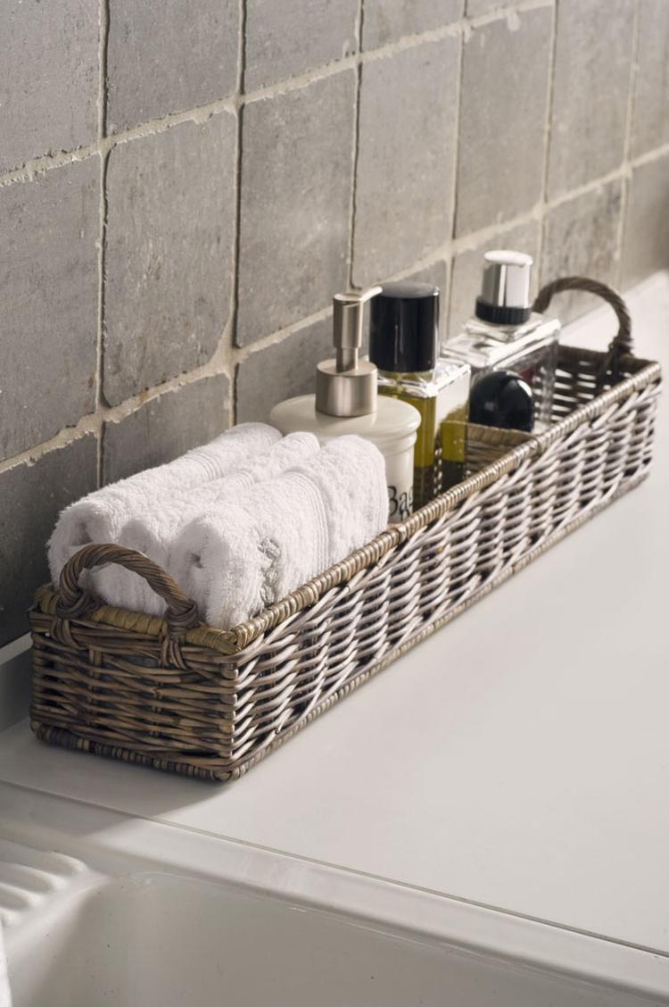 nette manier om je badkamer spulletjes op te bergen maar ook zeer