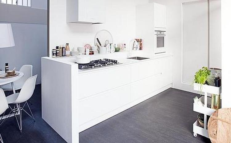 Strakke Witte Keuken : Strakke witte keuken van vtwonen. foto geplaatst door mm92 op welke.nl