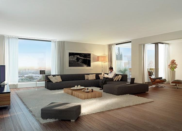 Zithoek woonkamer beautiful in het karpet op de vloer for Welke nl woonkamer