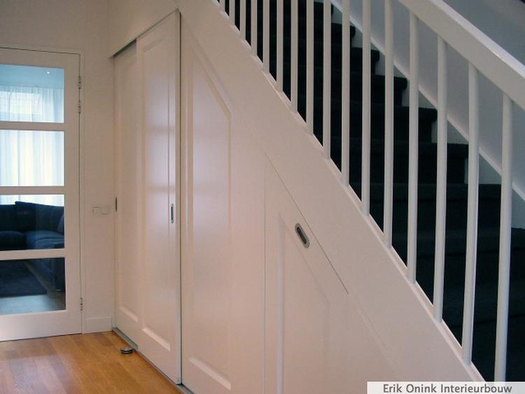 Idee voor trapkast. Foto geplaatst door MichelMastenbroek op Welke.nl