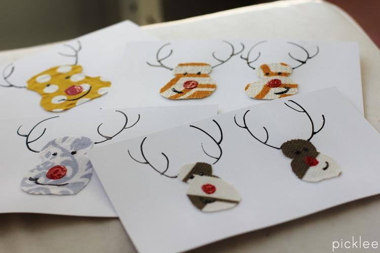 Genoeg Leuke simpele kerstkaarten om zelf te maken. Foto geplaatst door  &OI66