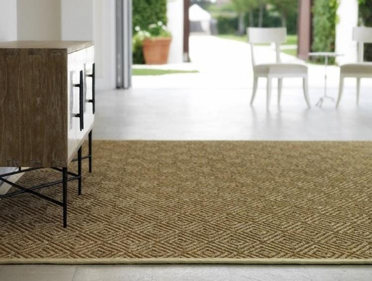 sisal tapijt in de woonkamer met mooi dressoir. Foto geplaatst door ...